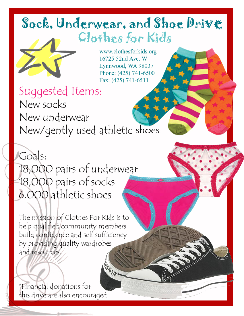 donation flyer examples
